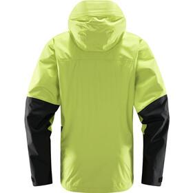 Haglöfs Roc Sheer GTX Jacket Men sprout green/true black